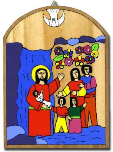 Picture of Baptism Plaque 14 x 19 cm