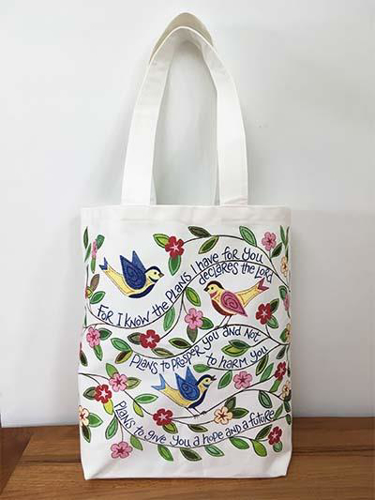 Picture of Canvas Bag: For I Know The Plans
