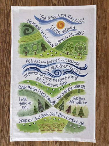 Picture of Tea Towel: The Lord Is My Shepherd