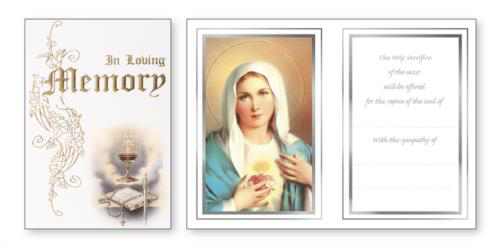Picture of In Loving Memory Mass Card