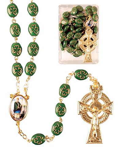 Picture of St. Patrick Rosary Beads