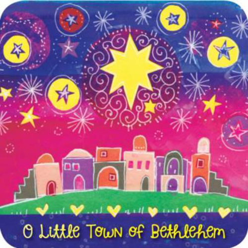 Picture of Christmas Coaster/O Little Town