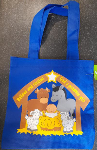 Picture of Nativity Tote Bags
