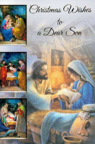 Picture of Christmas Card - Son