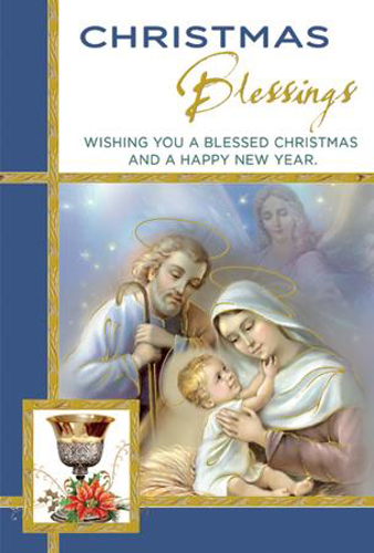 Picture of Christmas Card - Priest