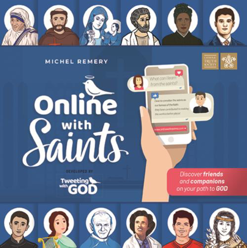Picture of Online with Saints
