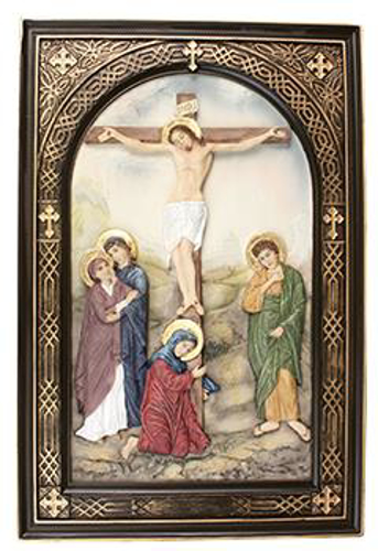 Picture of Resin Plaque: Crucifixion
