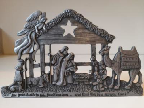 Picture of Pewter Nativity