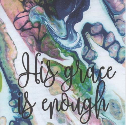 Picture of Card - His Grace is Enough