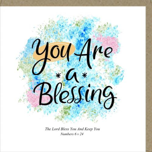 Picture of Card - Blessing