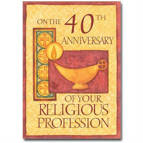 Picture of 40th  Anniversary -  Religious Life