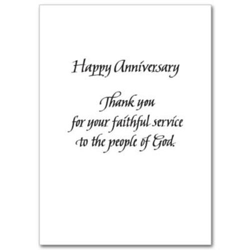 Picture of Anniversary -  Ordination