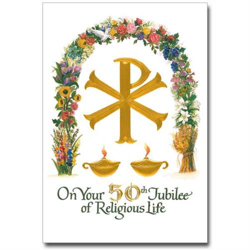 Picture of 50th Anniversary -  Religious Life