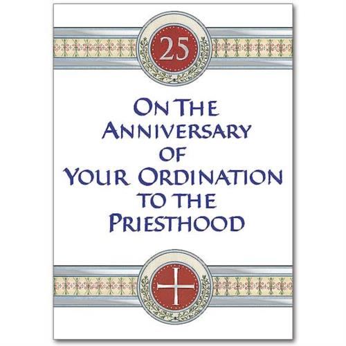 Picture of Anniversary of Ordination to Priesthood