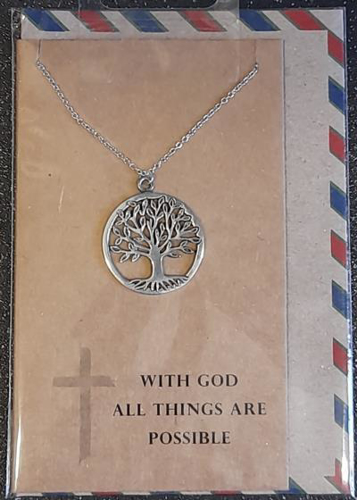 Picture of Necklace Chain - Tree (Circle)