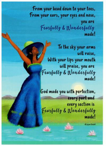 Picture of A4 Picture: Fearfully & Wonderfully Made