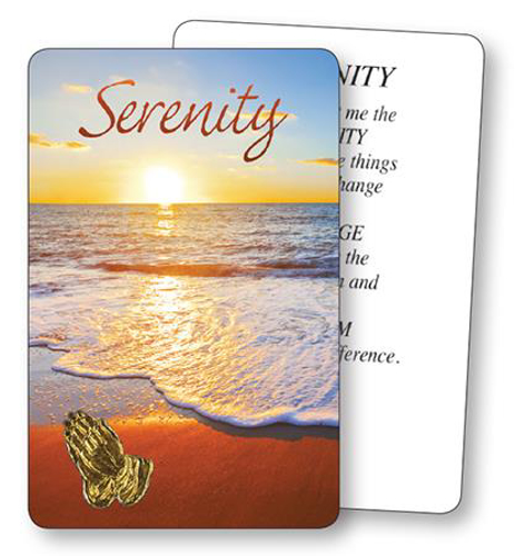 Picture of Prayer Card - Serenity