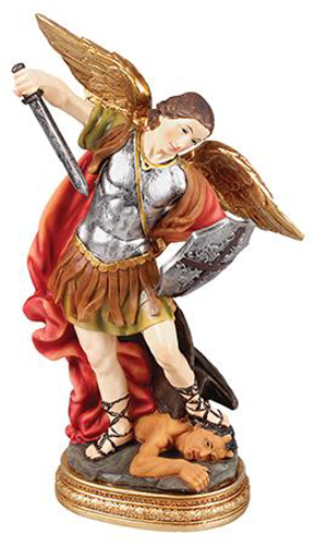Picture of St. Michael 12 inch Statue