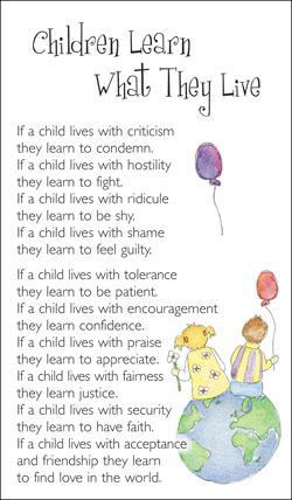 Picture of Prayer Card - Children Learn