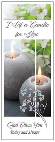 Picture of I Lit a Candle You