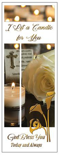 Picture of I Lit a Candle For You
