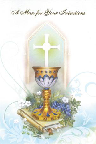 Picture of A Mass For Your Intentions Card