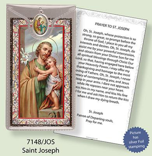 Picture of St. Joseph: Medal and Leaflet