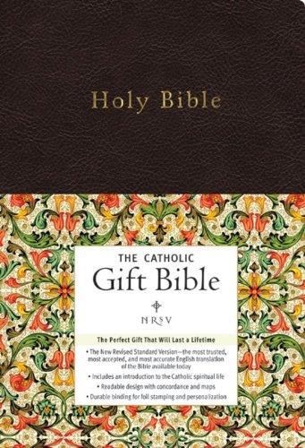 Picture of NRSV Catholic Gift Bible Black