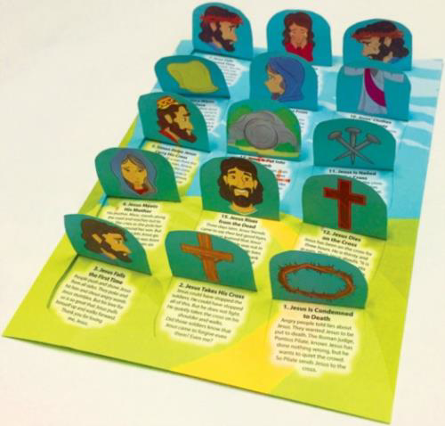 Picture of Stations of the Cross Calendar