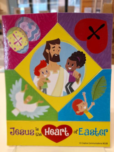 Picture of Jesus is the Heart of Easter: Puzzle Magnet