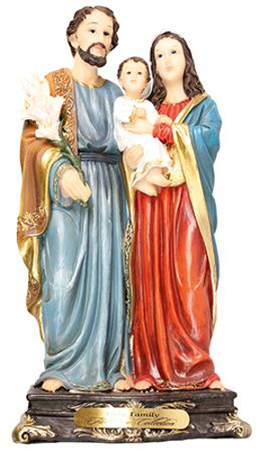 Picture of Resin Statue - Holy Family 12 inch