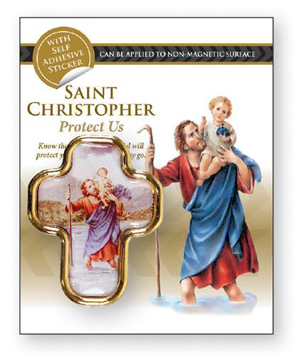 Picture of Magnetic Car Plaque: St. Christopher