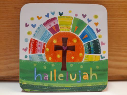 Picture of Easter Coaster - Hallelujah