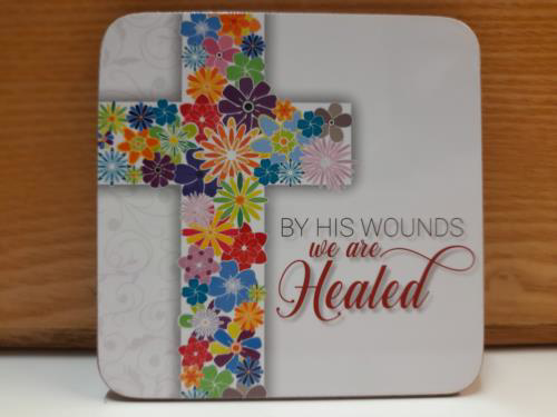 Picture of Easter Coaster - By His Wounds