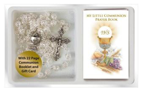 Picture of 1st Communion Metal Rosary Beads