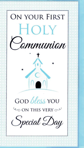Picture of On Your 1st Holy Communion (Blue)