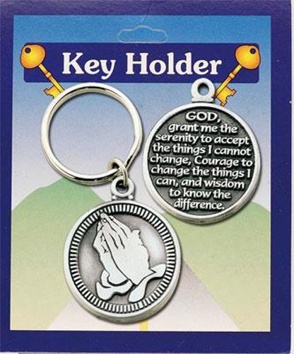 Picture of Metal Keyring - Serenity Prayer