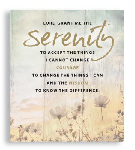 Picture of Porcelain Plaque - Serenity Prayer