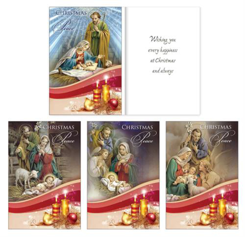 Picture of Christmas Peace - 18 Cards (4 Designs)