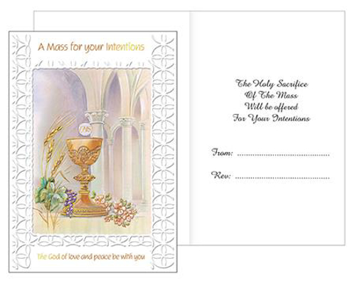 Picture of A Mass For Your Intentions