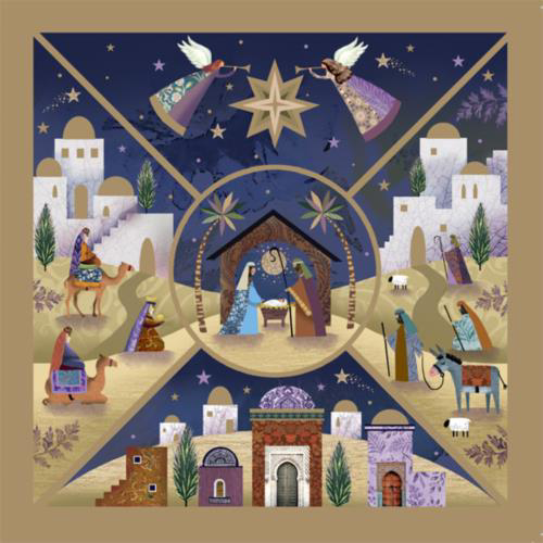 Picture of Nativity Panels - Pack of 10 cards