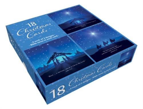 Picture of The Nativity - Box of 18 cards