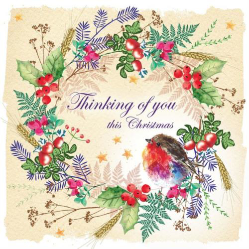 Picture of Thinking of you this Christmas - Pack of 10