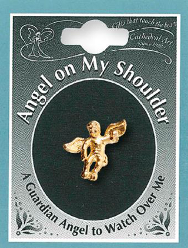 Picture of Angel on My Shoulder Brooch