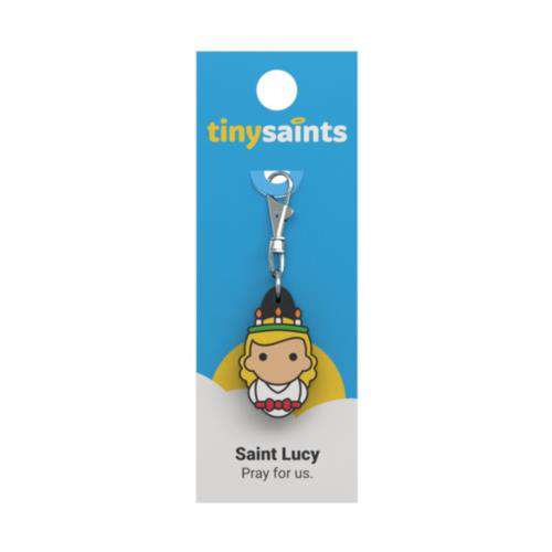 Picture of Keyring Clip - St. Lucy