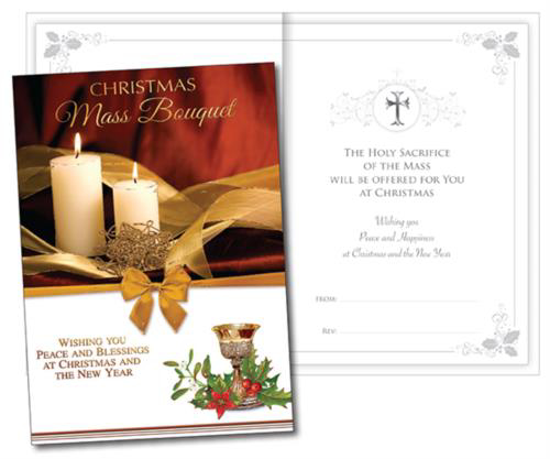 Picture of Christmas Mass Bouquet