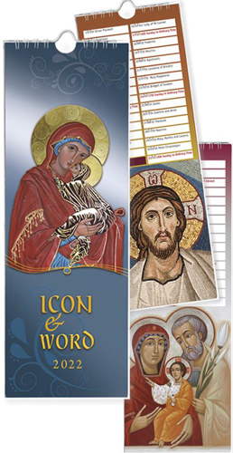 Picture of Icon and Word Calendar 2022